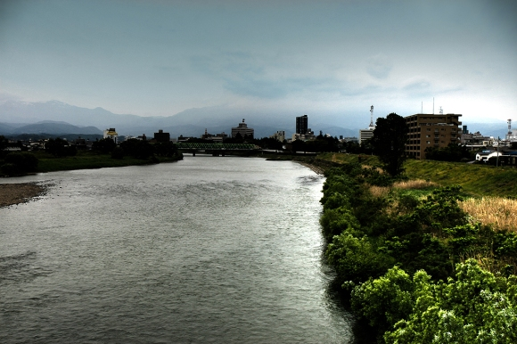 Abukumagawa River Fukushima's Tainted Water Supply